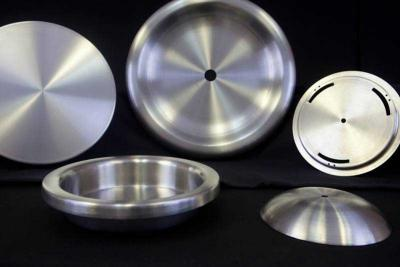 Lids created from stainless steel spinning