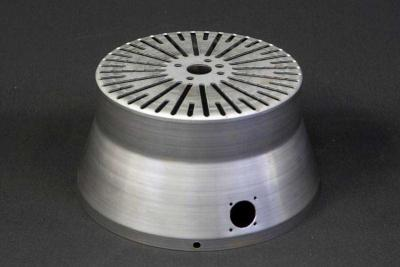 Steel spun cover with a variety of our value added features