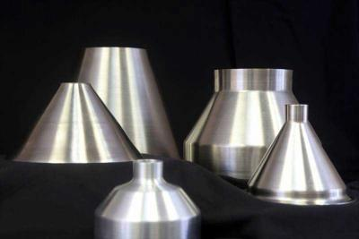 Aluminum and Stainless Steel Cones, Funnels and Reducers